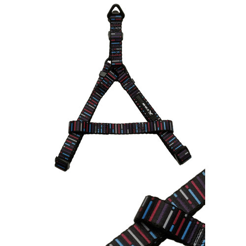 Papillon Mac Leather Mono harness red