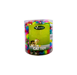 Rainbow Mouse with bell, 5cm, 60 pieces