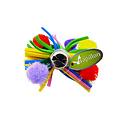Papillon Rainbow bow 7cm 60 pcs