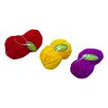 Papillon Knot wool 3 colors, 60 pcs