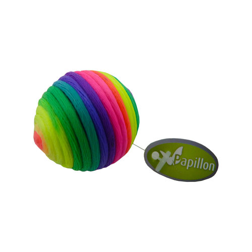 Papillon Regenbogenball 3½cm, das Rohr 60 mit dem Tag