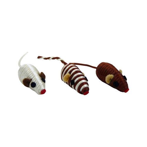 Papillon Maus 5cm sortiert, 80 Stück im Rohr 80