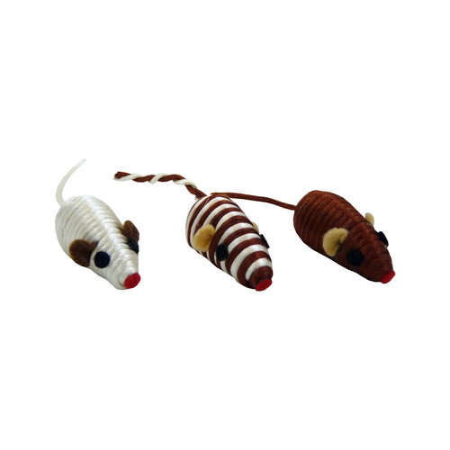 Papillon Mouse 5cm assorted, 80 pcs in tube 80