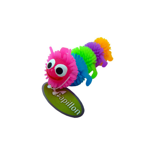 Papillon Rainbow Caterpillar 6½cm, tube 60 with tag 60 pieces