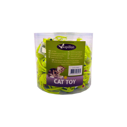 Papillon Mouse 5cm yellow, 60 in tube with sticker 60 pieces