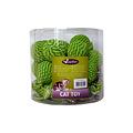 Papillon Ball 5cm + green, 25 in tube 25 pieces