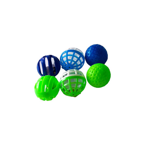 Papillon 4cm ball hard eight models 60 pieces