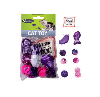 Katzenspielzeug-Set 10-tlg.