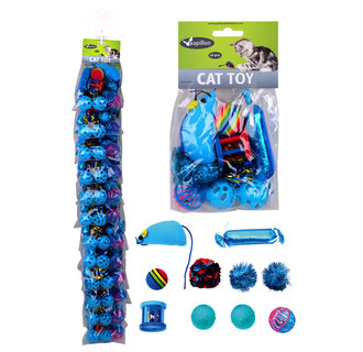 Clip cat toy set