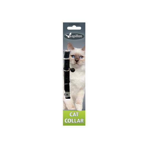 Papillon Reflective velvet cat collar