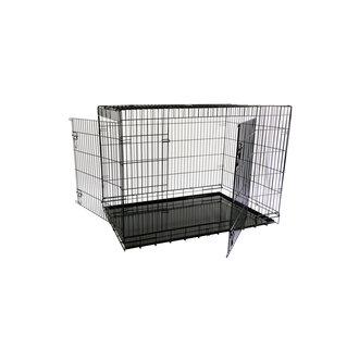 Fil cage 2XXL 118x78x85 cm, le pliage Z