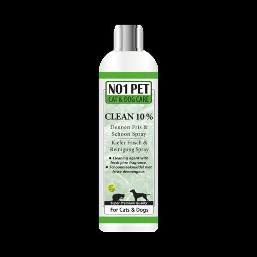 No1-pet Clean 10% Spray