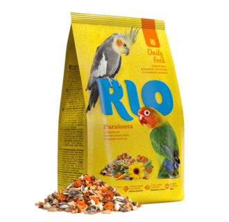 RIO Feed for parakeets. Daily feed