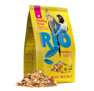 RIO Feed for parakeets. Moulting period feed