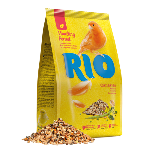 RIO RIO Feed for canaries. Moulting period feed, 500 g