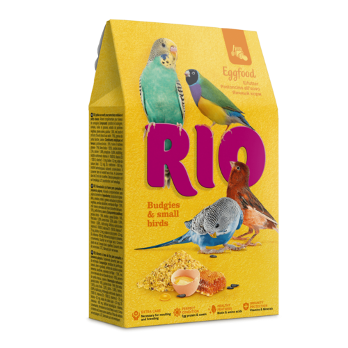 RIO RIO Eggfood for budgies and other small birds, 250 g