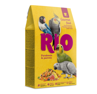 RIO Gourmetfutter für Sittiche und Papageien, 250 g