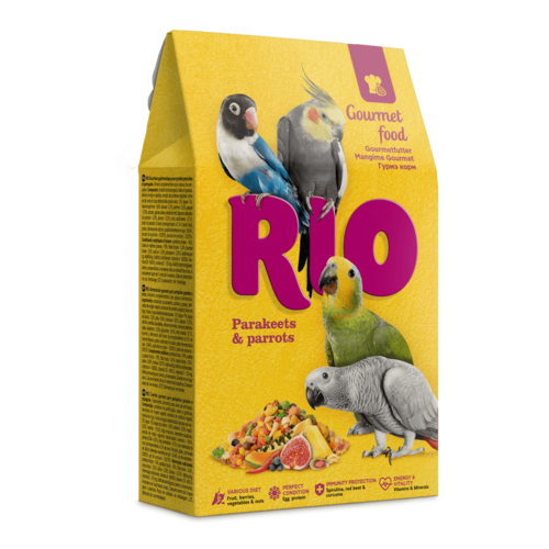 RIO RIO Gourmetfutter für Sittiche und Papageien, 250 g