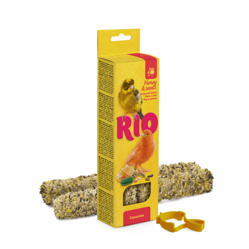 RIO RIO Sticks for canaries with honey and healthy seeds, 2x40 g
