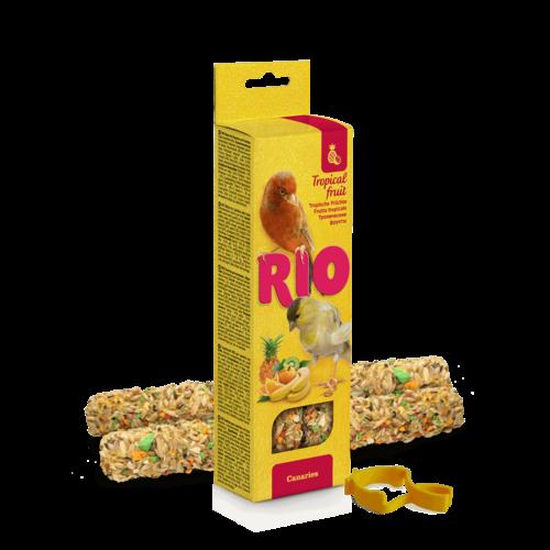RIO RIO Sticks for canaries with tropical fruit, 2x40 g
