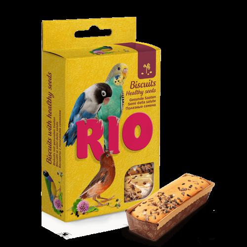 RIO RIO Biscuits avec des graines saines, 5x7 g