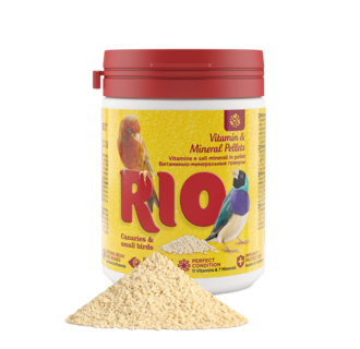 RIO Vitamin and mineral pellets for canaries, exotic birds and other small birds, 120 g