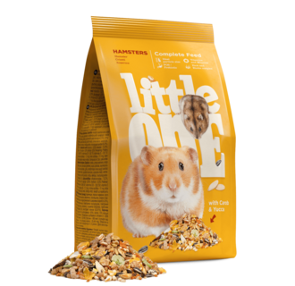 Little One Alleinfutter für Hamster, 900 g
