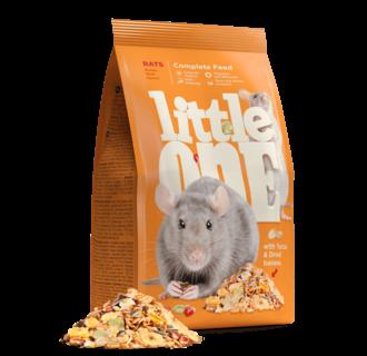 Little One Alleinfutter für Ratten, 900 g