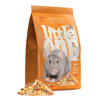 Little One Feed for rats, 900 g