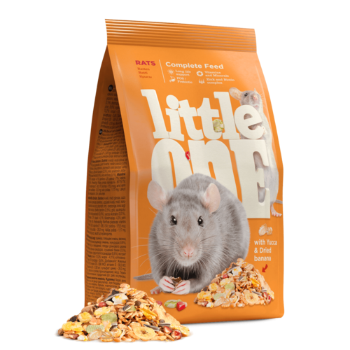 Little One Little One voer voor ratten, 900 g