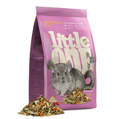 Little One Little One voer voor chinchilla's, 900 g