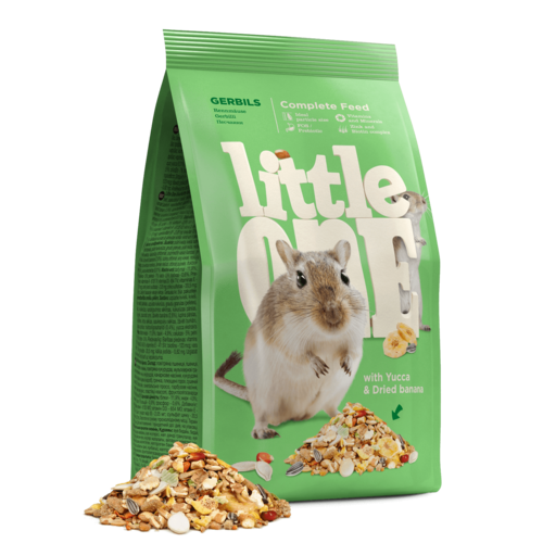 Little One Little One Alleinfutter für Rennmäuse, 400 g