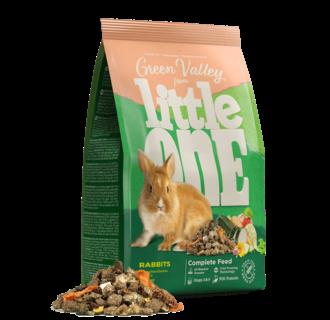 """Little One Aliment """"Vallée Verte"""" pour lapins, 750 g"""