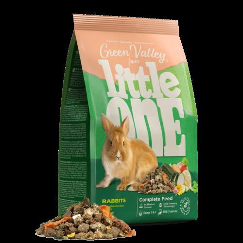 "Little One Little One ""Groene Vallei"" voer voor konijnen, 750 g"