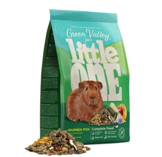 """Little One """"Green valley"""". Fibrefood for guinea pigs, 750 g"""