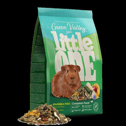 """Little One Little One """"Grünes Tal"""". Faserfutter für Meerschweinchen, 750 g"""
