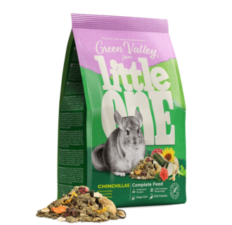"""Little One """"Green valley"""". Fibrefood for chinchillas, 750 g"""