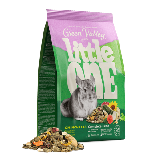 "Little One Little One ""Green valley"". Fibrefood for chinchillas, 750 g"