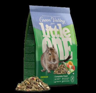 """Little One """"Green valley"""". Fibrefood for degu, 750 g"""