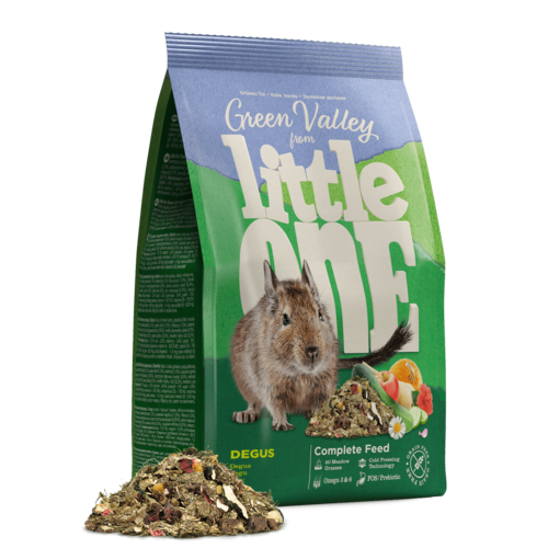 "Little One Little One Aliment ""Vallée Verte"" pour dègues du Сhili, 750 g"