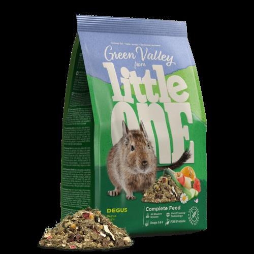 "Little One Little One ""Green valley"". Fibrefood for degu, 750 g"