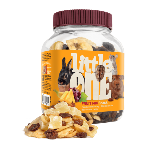 Little One Little One Fruit mix. Snack for all small mammals, 200 g