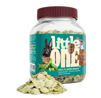 Little One Pea flakes. Snack for all small mammals, 230 g