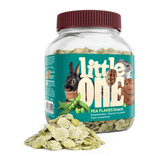 Little One Little One Pea flakes. Snack for all small mammals, 230 g