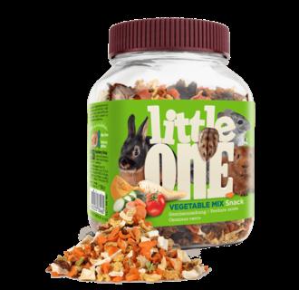 Little One Gemüsemischung. Snack für alle kleinen Säugetiere, 150 g