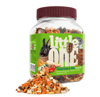 Little One Vegetable mix. Snack for all small mammals, 150 g
