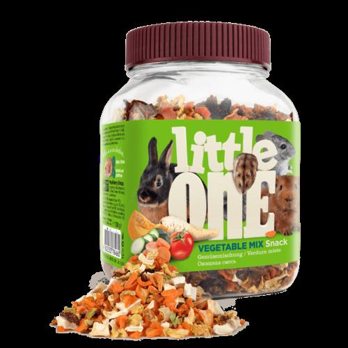 Little One Little One Gemüsemischung. Snack für alle kleinen Säugetiere, 150 g