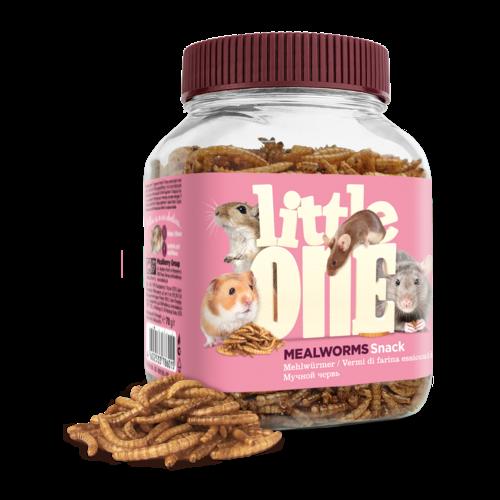 Little One Little One Mehlwürmer, Snack für omnivore Säugetiere, 70 g