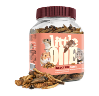 Little One Insect mix. Snack for omnivores small mammal, 75 g