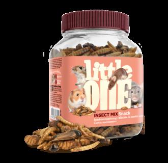 Little One Insektenmischung, Snack für omnivore Säugetiere, 75 g